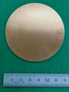銅 円板 70mm